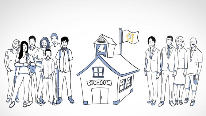 whiteboard style animation