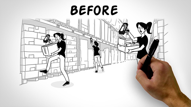 whiteboard animation